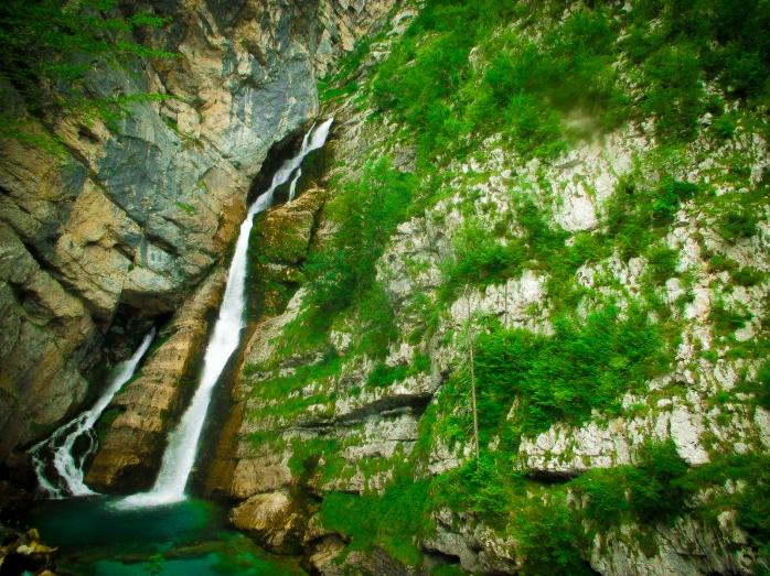savica waterfalls